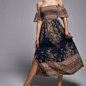 COMING SOON Free People Louise Midi Dress